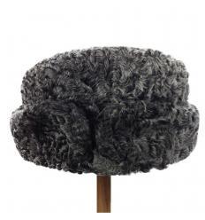 Chapeau en laine d'agneau Karakul