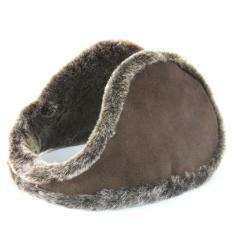 Cache-oreilles façon «tour de cou» terre