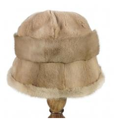 Chapeau en fourrure de vison