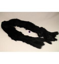 Echarpe noire LAPINO Lapin