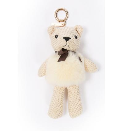 Porte-clé / Doudou Teddy bear avec lapin