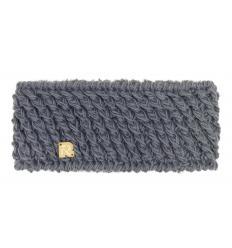 Bandeau tricots obliques unis