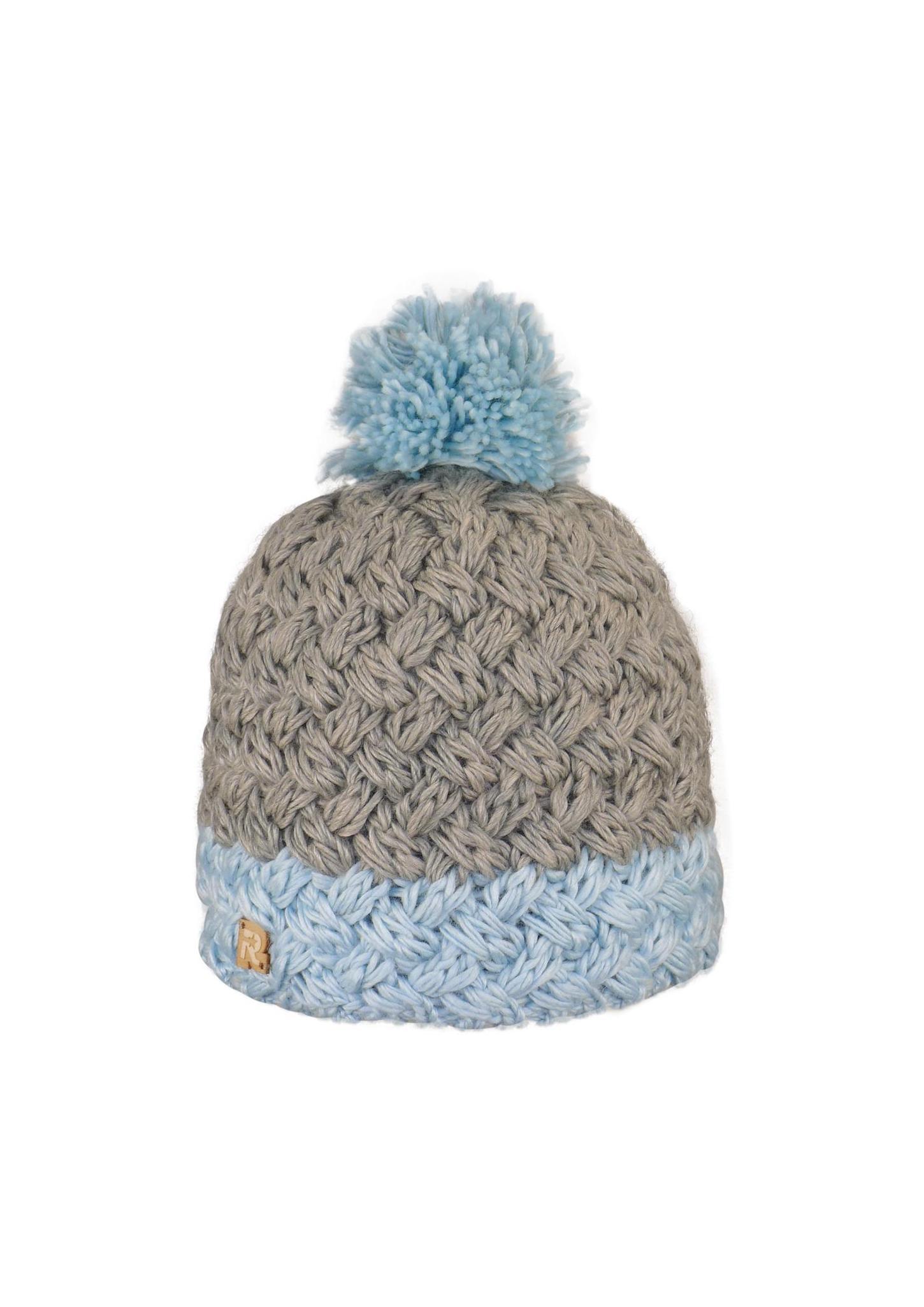 tricoter un bonnet bicolore